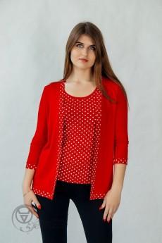 Кардиган+блузка